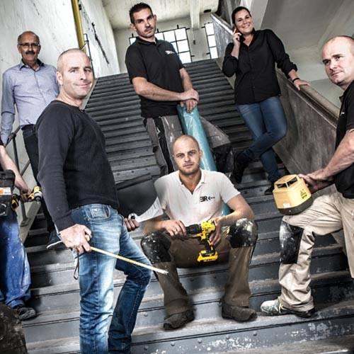 Groepsfoto Team ER-Bouw